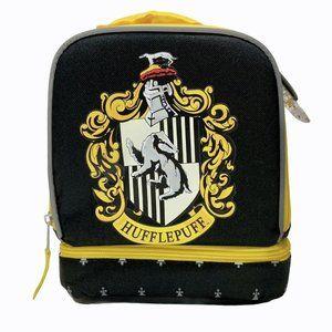 Harry Potter Hufflepuff Crest Lunch Bag